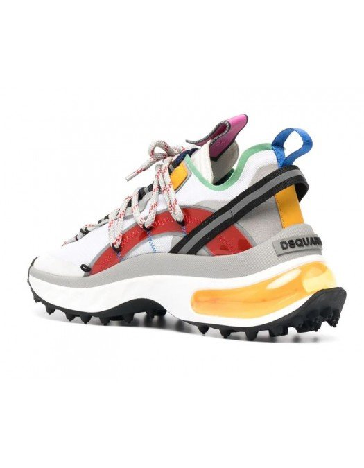 Sneakers DSQUARED2, Talpa cu gel orange, Multicolor - SNW011416801659M2059