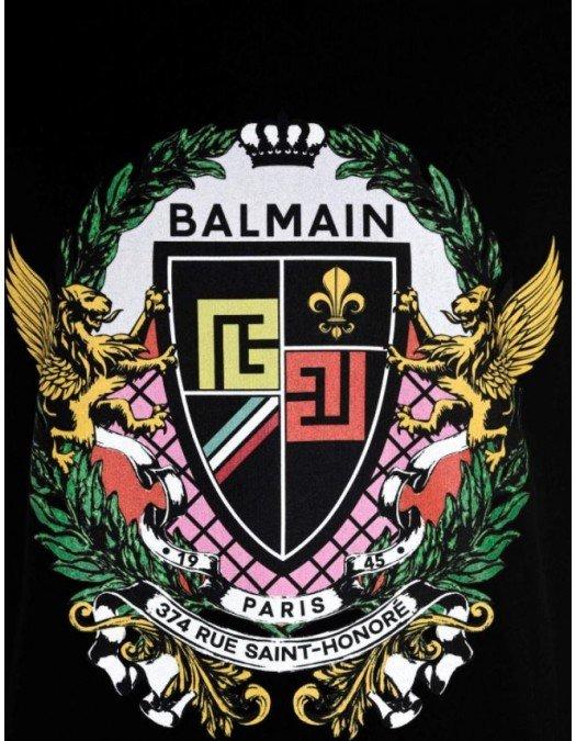 TRICOU BALMAIN, Imprimeu colorat, Bumbac - VH0EF000G055EAH