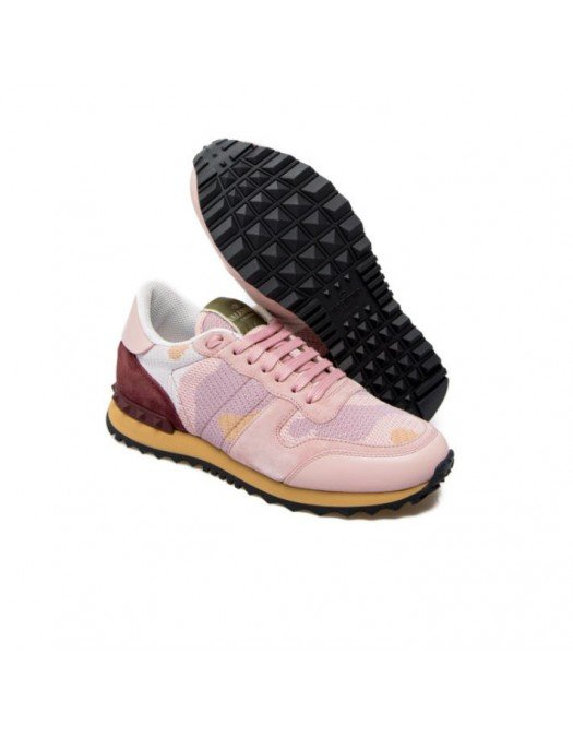 Sneakers Valentino, Rockrunner Pink - VW2S0291QRKD29