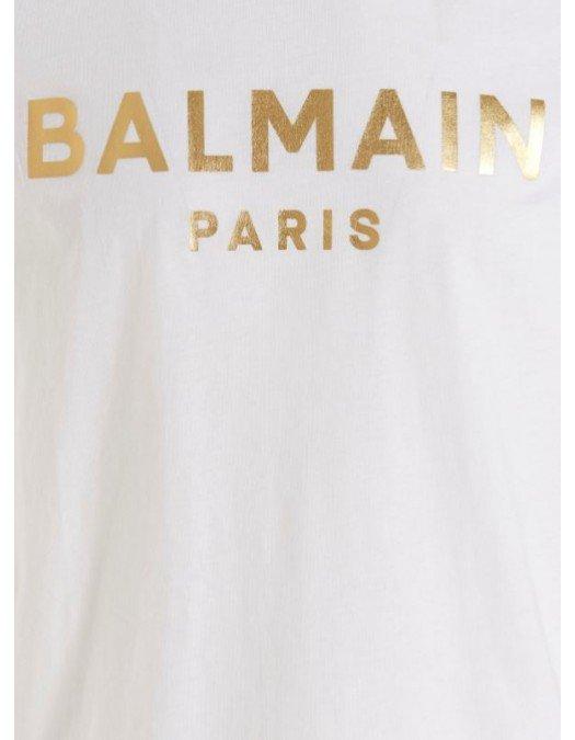 TRICOU BALMAIN,  Gold Print - WH1EF000B121GAD