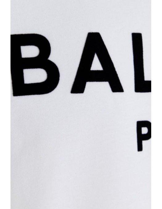 TRICOU BALMAIN,  Flocked Logo - WH1EF000B124GAB