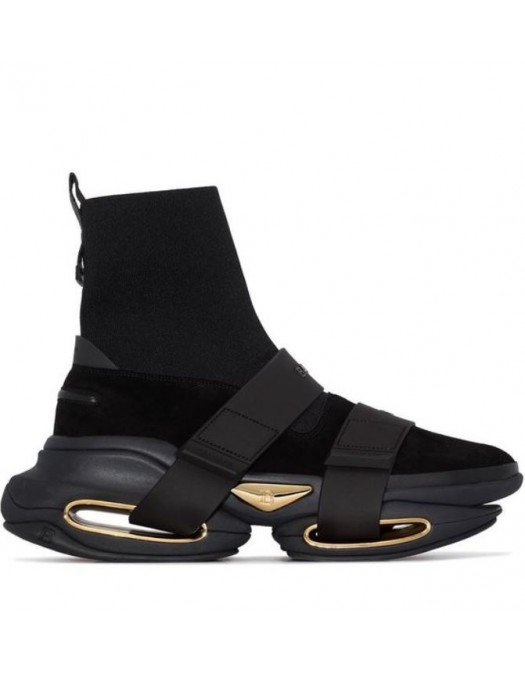 Sneakers BALMAIN, BBold high-top sneakers, For HER WN1VH540TKSU0PA - WN1VH540TKSU0PA