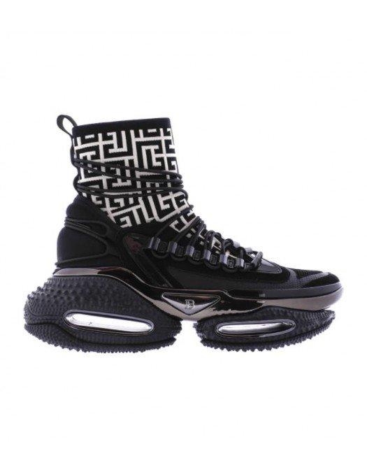 Sneakers BALMAIN, BLACK WHITE B BOLD - WM0VH265TMKS0PA