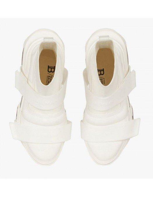 Sneakers BALMAIN, BBold high-top sneakers, Alb - WM1VH229TLKP0FA