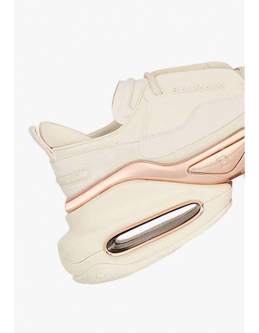 Sneakers BALMAIN, White And Pink  B Bold Low Top - WN0VI541LSCDGEQ
