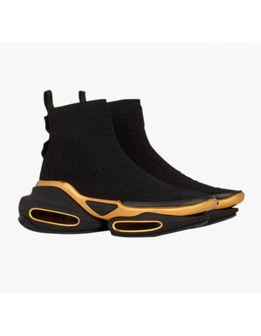 Sneakers BALMAIN,  B Bold High Top Sneakers KNIT - WN0VJ684TKMM0PA