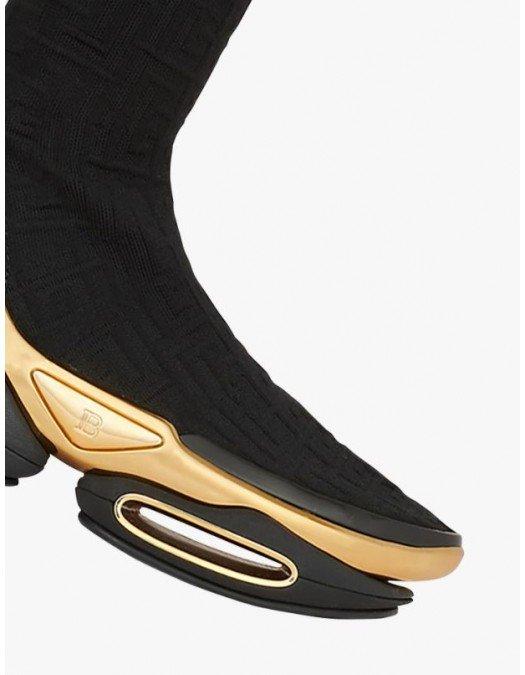 Sneakers BALMAIN, B-Bold Thigh-High Sneakers - WN0VJ685TKMM0PA