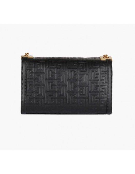 Geanta BALMAIN, Monogram, Medium bag - WN1BK652LESP0PA