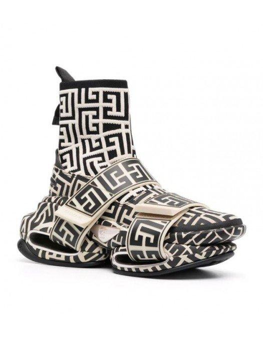 Sneakers BALMAIN, BBold high-top Monogram - WN1VH540TKMDGFE