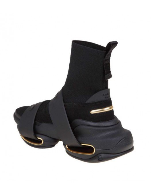 Sneakers BALMAIN, BBold high-top sneakers, For Him WM0VH229TKSE0PA - WM0VH229TKSE0PA
