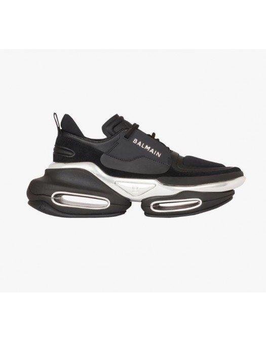 Sneakers BALMAIN, BBold low-top sneakers, Metal - WN1VI541TRPY0PA