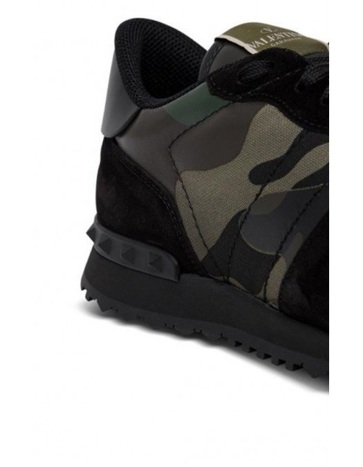 SNEAKERS VALENTINO GARAVANI Camouflage Noir - WY2S0723TCCW42