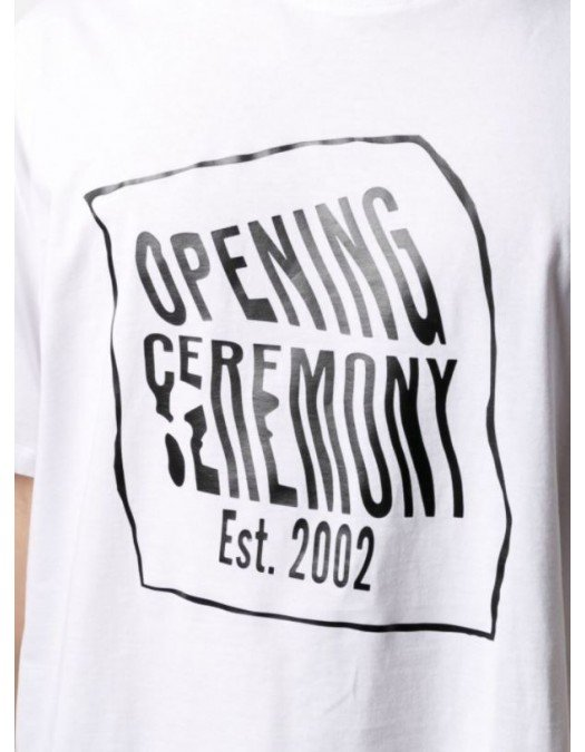 TRICOU OPENING CEREMONY, Bumbac, Imprimeu Brand - YMAA001S21JER0020111