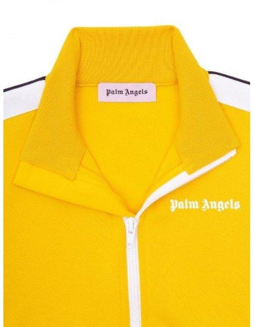 Jacheta PALM ANGELS, Insertie logo, Galben - PMBD001R21FAB0011801