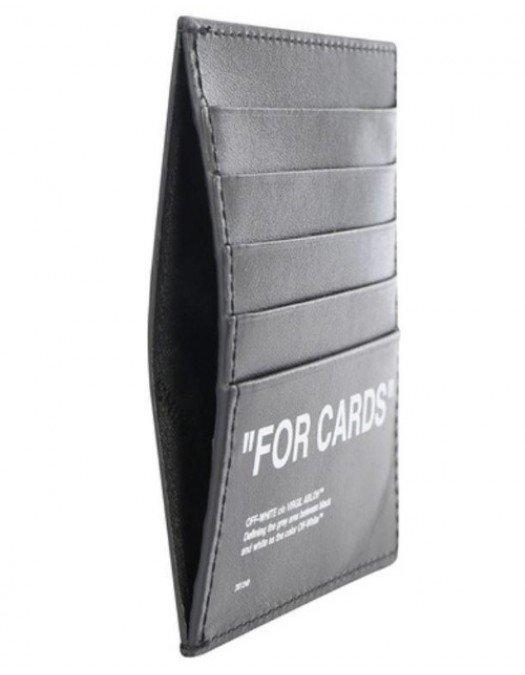 PORTCARD OFF WHITE SS20 - D08530381001 - PORTOFELE BARBATI