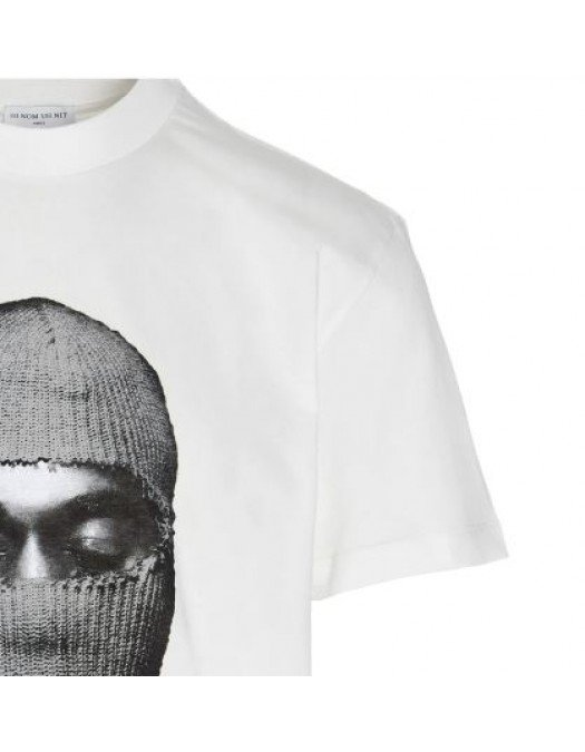 Tricou Ih Nom Uh Nit, White, Gray Mask - NUW21241081