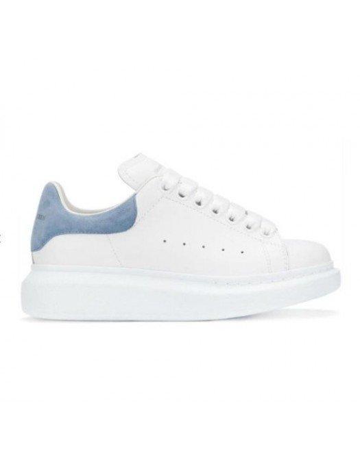 Sneakers ALEXANDER MCQUEEN, Insertie bleu deschis, Alb - 553770WHGP79048