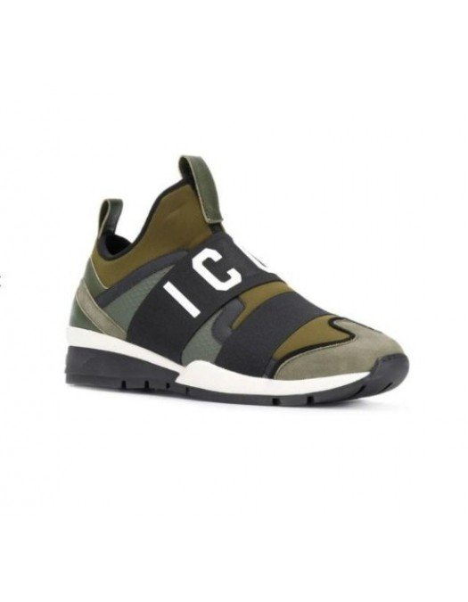 SNEAKERS DSQUARED2 SS19 - SNM0022M682 - SNEAKERS BARBATI