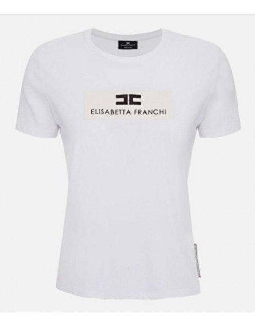 TRICOU ELISABETTA FRANCHI SS20 - MA18201E2110 - TRICOURI FEMEI