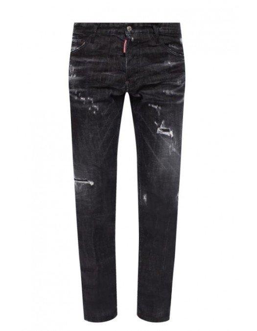 Jeans Dsquared2, Cool Guy Jeans, Negru - S71LB0800900