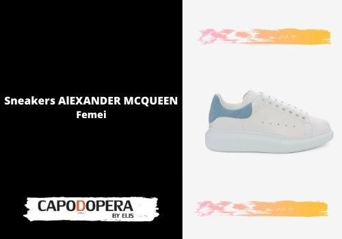 Sneakers Alexander Mcqueen Femei - Capodopera12