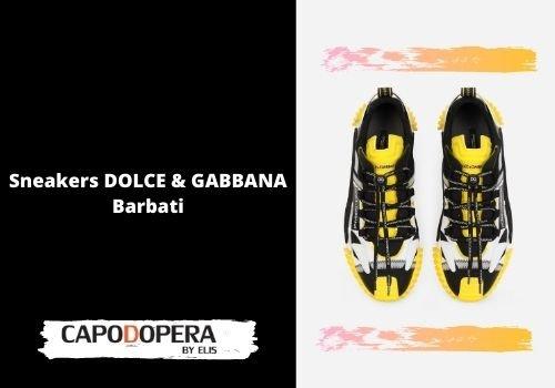 Sneakers Dolce & Gabbana Barbati - Capodopera12