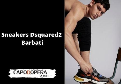 Sneakers Dsquared 2 Barbati - Capodopera12
