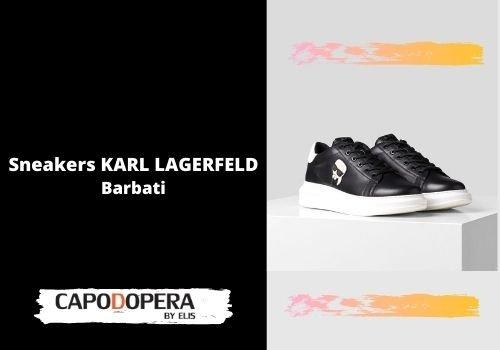 Sneakers Karl Lagerfeld Barbati - Capodopera12