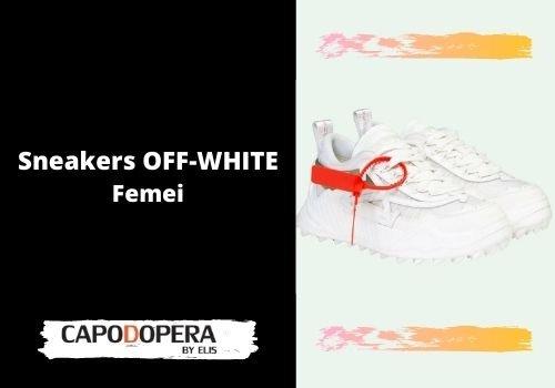 Sneakers Off-White Femei - Capodopera12