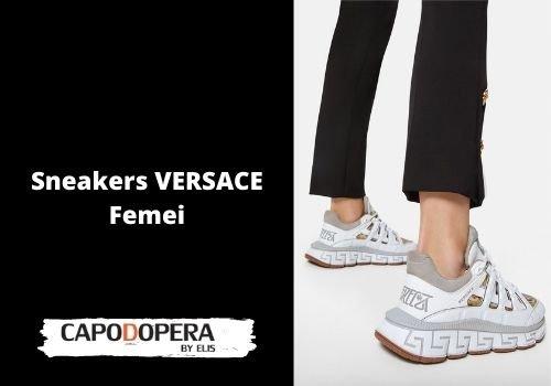 Sneakers Versace Femei - Capodopera12