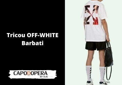 Tricou Off-White Barbati - Capodopera12
