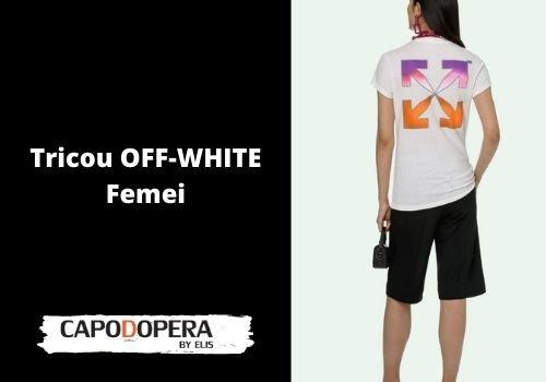 Tricou Off White Femei- Capodopera12